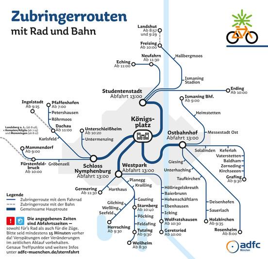 Adfc München Zubringertouren